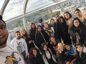 WYA on the London Eye